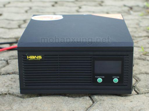 Bộ kích điện bình ắc quy 12v Hans 1000VA 700w