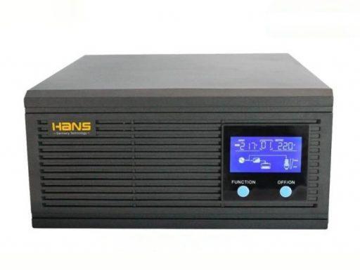Kích điện 12v lên 220v 500w sin chuẩn thương hiệu Đức Hans 500VA